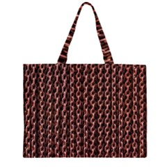 Chain Rusty Links Iron Metal Rust Large Tote Bag