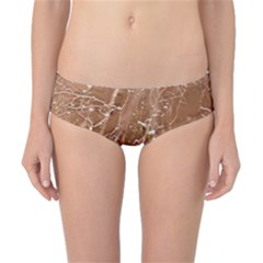 Ice Iced Structure Frozen Frost Classic Bikini Bottoms