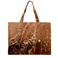 Ice Iced Structure Frozen Frost Large Tote Bag