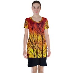 Sunset Abendstimmung Short Sleeve Nightdress
