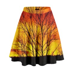 Sunset Abendstimmung High Waist Skirt