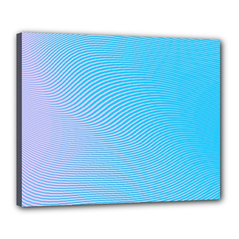 Background Graphics Lines Wave Canvas 20  x 16
