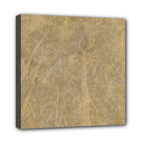 Abstract Forest Trees Age Aging Mini Canvas 8  x 8