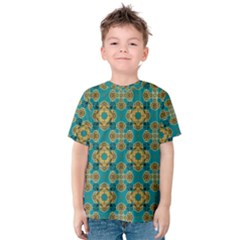 Vintage Pattern Unique Elegant Kids  Cotton Tee