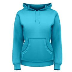 Neon Color - Brilliant Arctic Blue Women s Pullover Hoodie