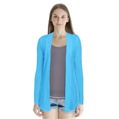 Neon Color   Brilliant Cerulean Cardigans