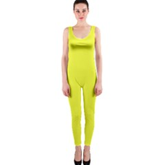 Neon Color - Brilliant Yellow OnePiece Catsuit