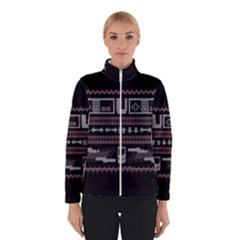 Old School Ugly Holiday Christmas Black Background Winterwear