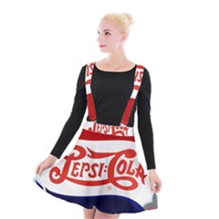 Pepsi Cola Suspender Skater Skirt
