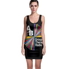 Above & Beyond  Group Therapy Radio Sleeveless Bodycon Dress