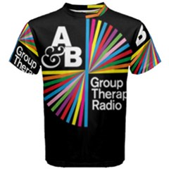 Above & Beyond  Group Therapy Radio Men s Cotton Tee