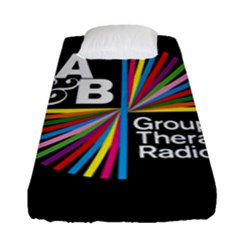 Above & Beyond  Group Therapy Radio Fitted Sheet (Single Size)