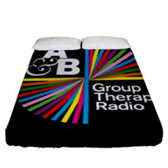 Above & Beyond  Group Therapy Radio Fitted Sheet (Queen Size)