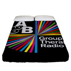 Above & Beyond  Group Therapy Radio Fitted Sheet (King Size)