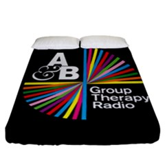 Above & Beyond  Group Therapy Radio Fitted Sheet (California King Size)