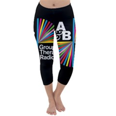 Above & Beyond  Group Therapy Radio Capri Winter Leggings