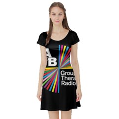 Above & Beyond  Group Therapy Radio Short Sleeve Skater Dress