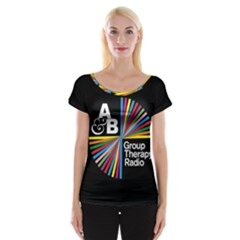 Above & Beyond  Group Therapy Radio Women s Cap Sleeve Top
