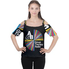 Above & Beyond  Group Therapy Radio Women s Cutout Shoulder Tee
