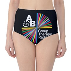Above & Beyond  Group Therapy Radio High-Waist Bikini Bottoms