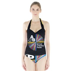 Above & Beyond  Group Therapy Radio Halter Swimsuit