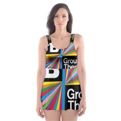 Above & Beyond  Group Therapy Radio Skater Dress Swimsuit