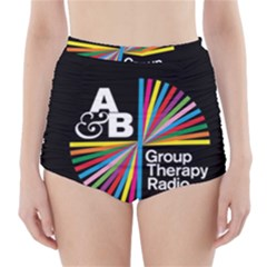 Above & Beyond  Group Therapy Radio High-Waisted Bikini Bottoms