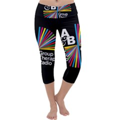 Above & Beyond  Group Therapy Radio Capri Yoga Leggings