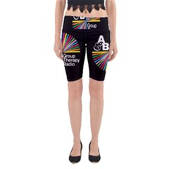 Above & Beyond  Group Therapy Radio Yoga Cropped Leggings