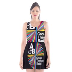 Above & Beyond  Group Therapy Radio Scoop Neck Skater Dress