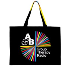 Above & Beyond  Group Therapy Radio Large Tote Bag
