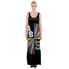 Above & Beyond  Group Therapy Radio Maxi Thigh Split Dress