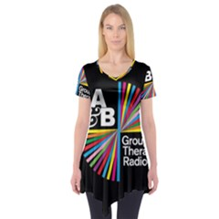 Above & Beyond  Group Therapy Radio Short Sleeve Tunic