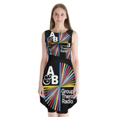Above & Beyond  Group Therapy Radio Sleeveless Chiffon Dress