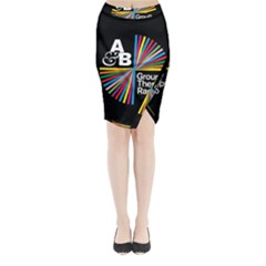 Above & Beyond  Group Therapy Radio Midi Wrap Pencil Skirt