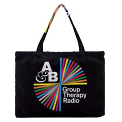 Above & Beyond  Group Therapy Radio Medium Zipper Tote Bag