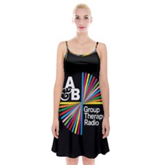 Above & Beyond  Group Therapy Radio Spaghetti Strap Velvet Dress
