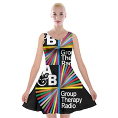 Above & Beyond  Group Therapy Radio Velvet Skater Dress