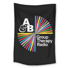 Above & Beyond  Group Therapy Radio Large Tapestry