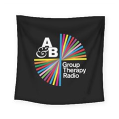 Above & Beyond  Group Therapy Radio Square Tapestry (Small)