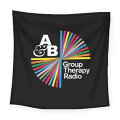 Above & Beyond  Group Therapy Radio Square Tapestry (Large)