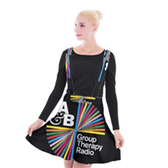 Above & Beyond  Group Therapy Radio Suspender Skater Skirt