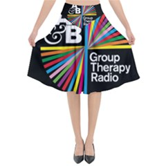 Above & Beyond  Group Therapy Radio Flared Midi Skirt