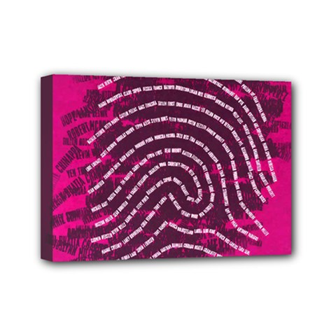Above & Beyond Sticky Fingers Mini Canvas 7  x 5