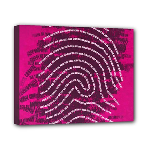 Above & Beyond Sticky Fingers Canvas 10  x 8
