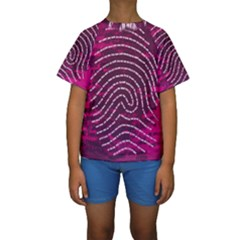 Above & Beyond Sticky Fingers Kids  Short Sleeve Swimwear