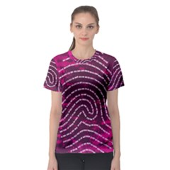 Above & Beyond Sticky Fingers Women s Sport Mesh Tee