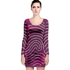 Above & Beyond Sticky Fingers Long Sleeve Bodycon Dress