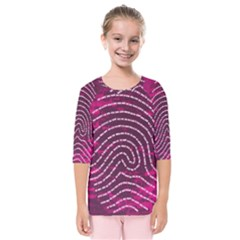 Above & Beyond Sticky Fingers Kids  Quarter Sleeve Raglan Tee