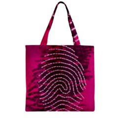 Above & Beyond Sticky Fingers Zipper Grocery Tote Bag